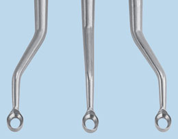 Powers Double Bent Curette Set