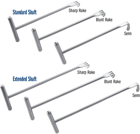 Chung T-Handle Retractors