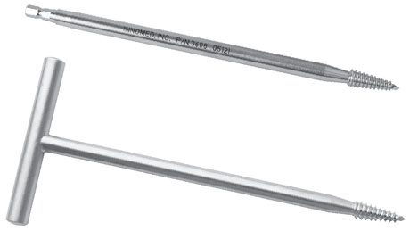 Femoral Head Remover with Hudson Style Quick-Connect