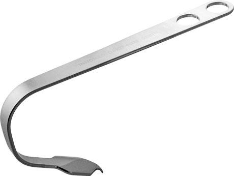 Modified Curved Double Bent Hohmann Retractor