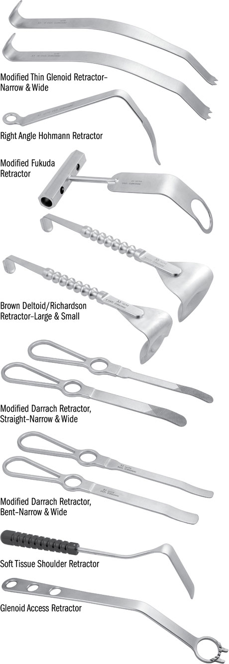 Shoulder Surgery Retractor System