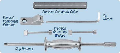 Unger Universal Femoral Component Extractor with Precision Osteotomy Guide