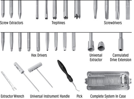 Universal Screw Removal Instrument System
