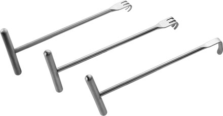 Chung T-Handle Retractors with Extended Handles